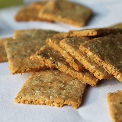 rosemary & parmesan crackers
