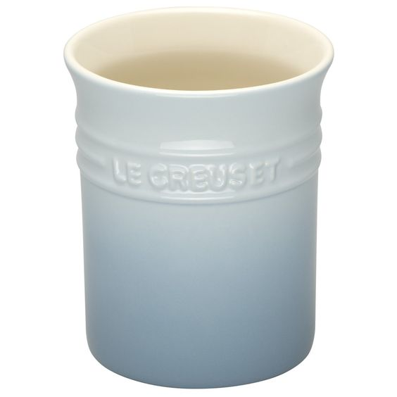 Le Creuset 1.1 Litre Stoneware Small Utensil Jar, Coastal Blue