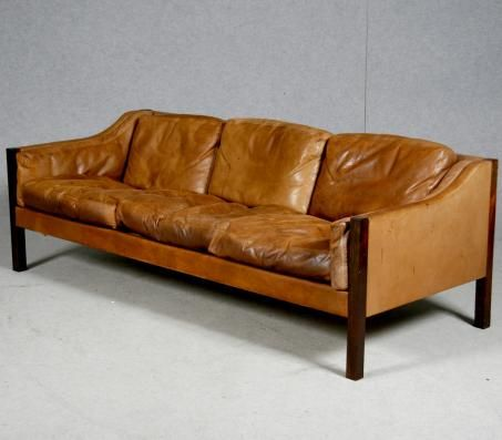 Erik Jorgensen Cognac Leather Sofa Sofas And Seating Pinterest Classic Chairs Vintage And Chairs