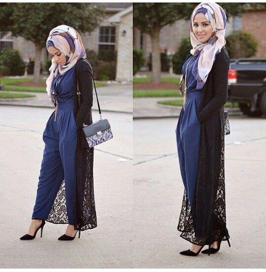 Häufig Hijab Fashion 2016/2017: jumpsuit Hijab Fashion 2016/2017  MW38