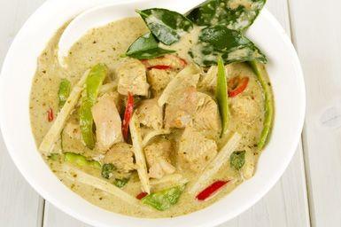 Easy Thai Coconut Curry Chicken: Thai Chicken Curry