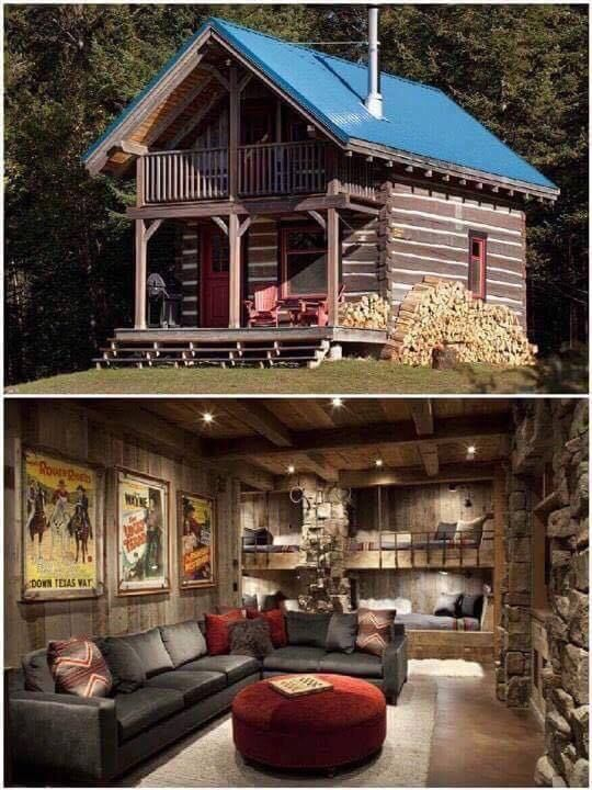 Off Grid Cabin Tiny House Cabin Building A Small House Rustic Cabin