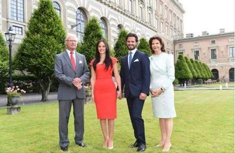 Verlobung Carl-Philip von Schweden mit Sofia Hellquist