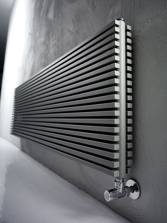 Radiador decorativo de pared en acero al carbono TRIM by ANTRAX IT radiators & fireplaces