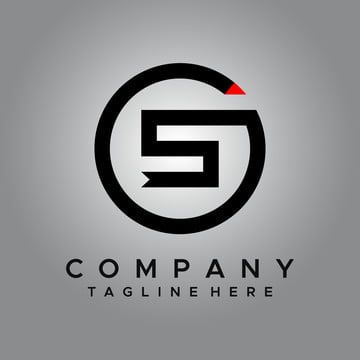خلاصة دعاية الأبجدية السهام الخلفية شارة أسود العلامة التجارية العلامات التجارية الأعمال دائرة شركة مفهوم الشركات جم Vector Logo Design Logo Design Vector Logo