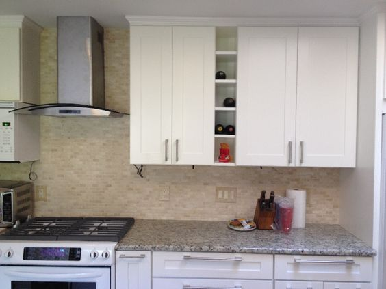 CENTEX Mayland White Shaker Kitchen Cabinet Pictures | Remodeling ...