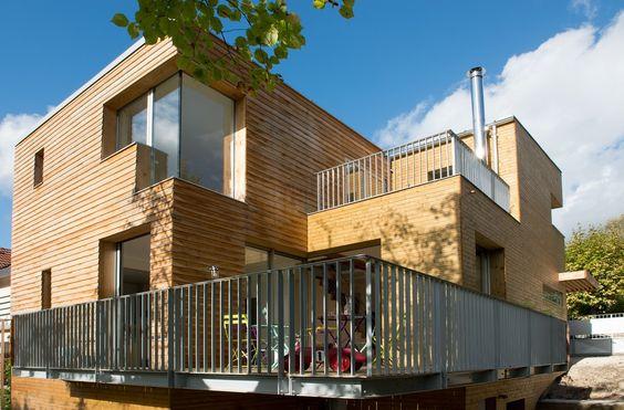 La Maison Bois un projet de Mélanie Lallemand #architecte d'intérieur diplômée de #LISAA en 1996. Photo : Hélène Hilaire  #design #architecture #talentslisaa http://ift.tt/1MrTZb7