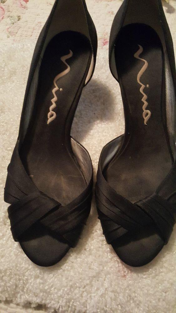 nina black pumps