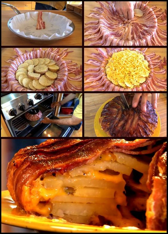 Still Cracking » Its Your Time To Laugh!Potato Bacon Cheddar Tart By Chef Michael Smith - Still Cracking