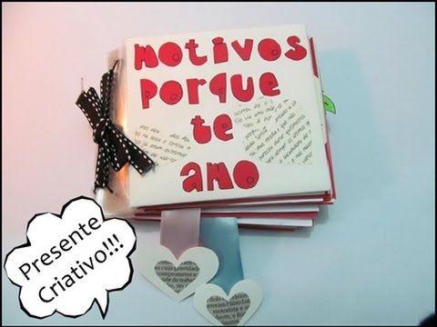 Presente Criativo Dia Dos Namorados Youtube Com Imagens