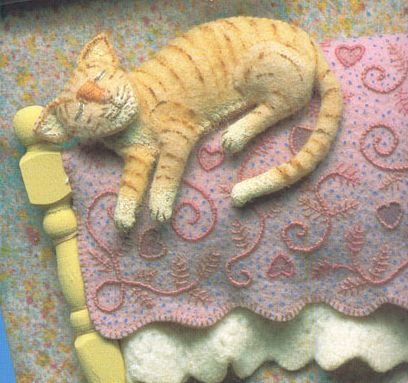 ✄ A Fondness for Felt ✄  DIY craft inspiration:  Felt by Salley Mavor