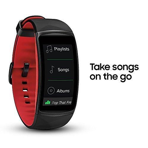Samsung Gear Fit2 Pro Smartwatch In 2020 Music Storage Running In The Rain Samsung