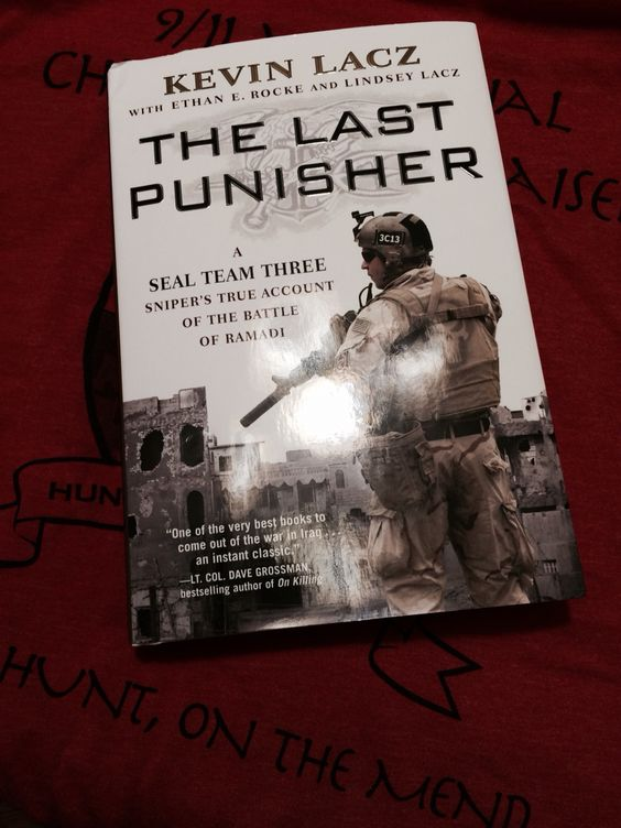 Kevin Lacz book The Last Punisher  Great Read !