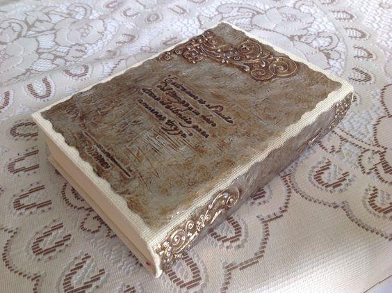 Biblia De Matrimonio : Biblia para boda jenny y javier contraportada