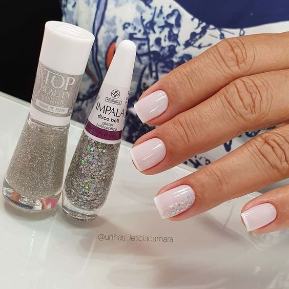 Vintage Makeup Look In 2020 Clear Acrylic Nails Acrylic Nails Fancy Nail Art