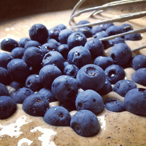 Blueberry galore...