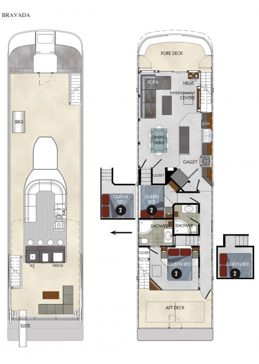 Cool Houseboat Floor Plans Awesome Houseboat Floor Plans Houseboat Plans Houseboat Floor Plans Pic Hous House Boat House Plans With Pictures Small Houseboats