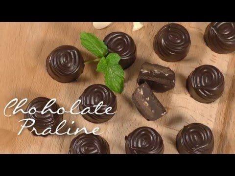 Resep Chocolate Praline A La Selera Nusantara Youtube Cokelat Coklat Resep
