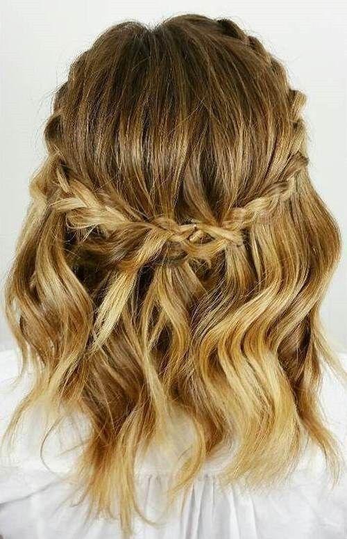 Schöne Frisuren Für Geflochtenes Welliges Haar Frisuren