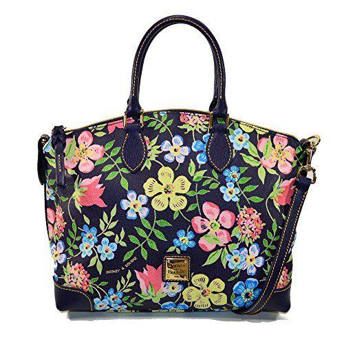 Dooney & Bourke Floral Satchel/Shoulder Bag
