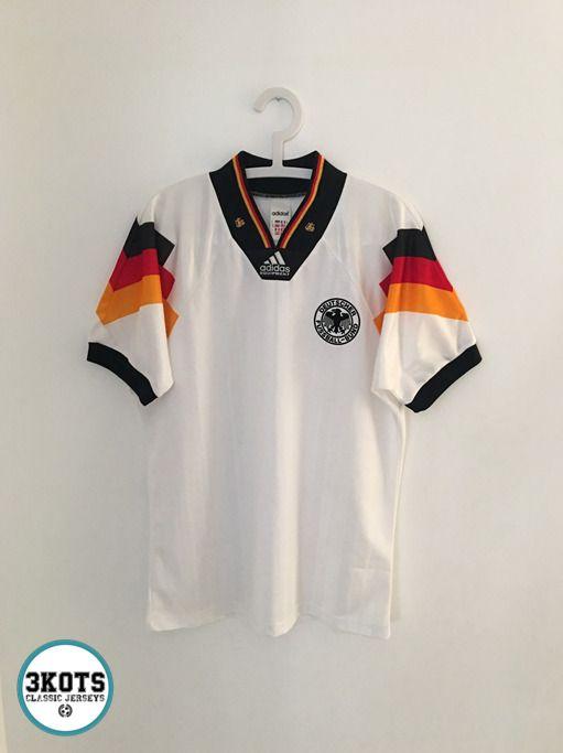 recogido zapatillas bastante agradable GERMANY 1992/94 Home Football Shirt (M) Soccer Jersey ADIDAS Vintage Maglia  #adidas #Jerseys… | Retro football shirts, Vintage football shirts, Sports  jersey outfit