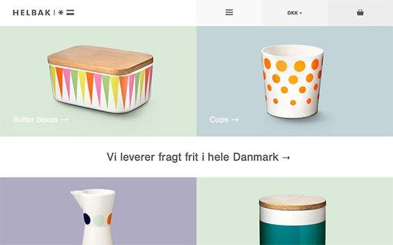 Helbak #isotw #webdesign #inspiration