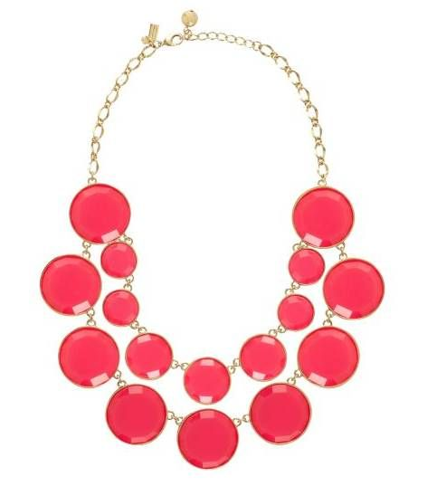 Pretty I would love this in turquoise and silver.: Baublebox Bib, Statement Necklaces, Jewelry Necklaces, Necklaces For Women, Bib Necklaces, Kate Spade, Bubble Necklaces, Spade Necklaces, Chunky Necklaces