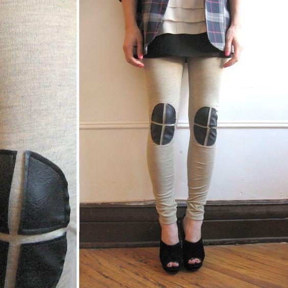 Norwegian Wood's Knee padded leggins 2