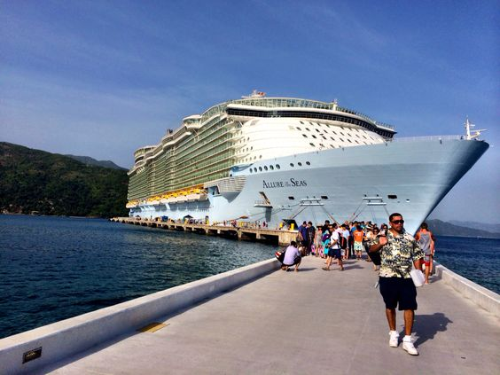Allure of The Seas, Caribbean cruise 2014