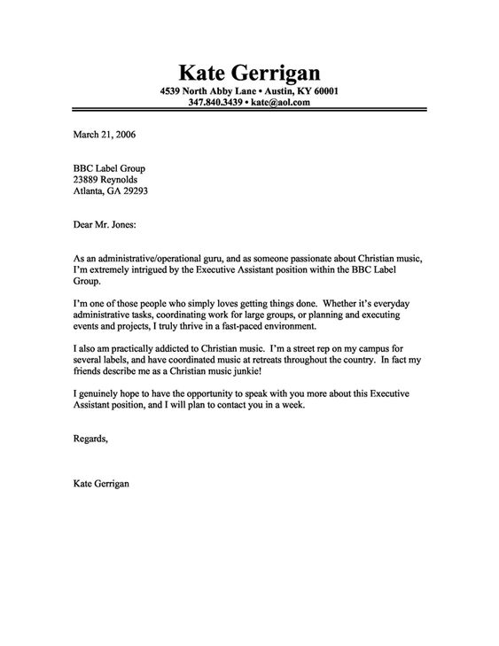 aesthetician cover letter - Template