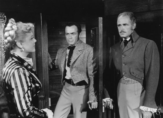 """Mutiny"" (1953) with Angela Lansbury and Patrick Knowles"