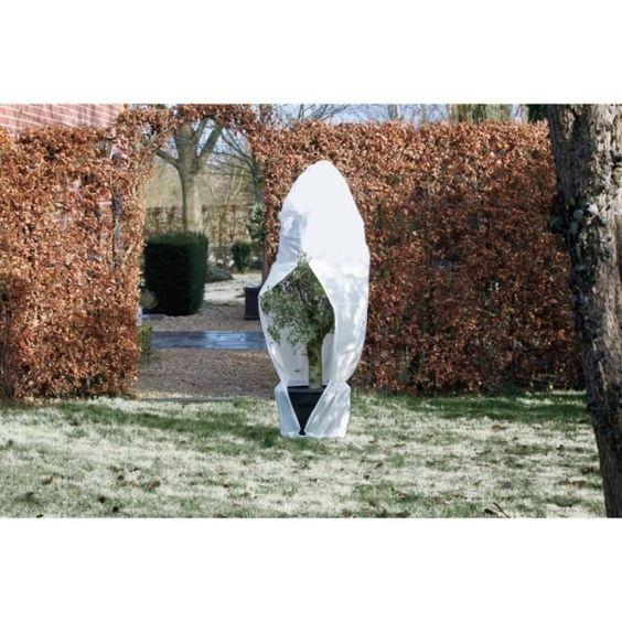 Nature Housse D Hivernage 70 G M O 200 Cm X 2 50 M Blanc Toile De Paillage Housses Et Dechets De Jardin