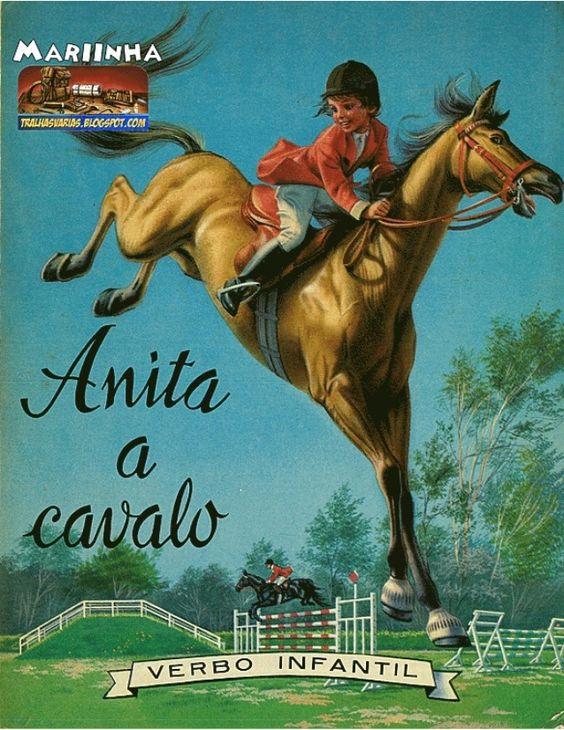 anita a cavalo