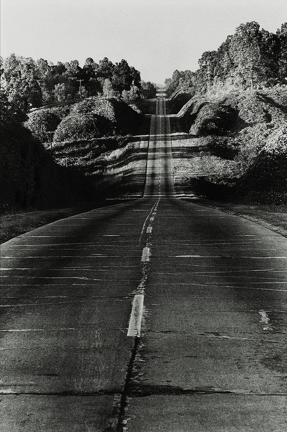 Danny Lyon - Highway 49 from Jackson to Yazoo City, 1964