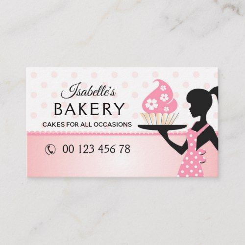Bakery Handmade Cakes Pastry Handmade Business Card Zazzle Com In 2021 Bakery Business Cards Templates Handmade Business Cards Cake Business Cards