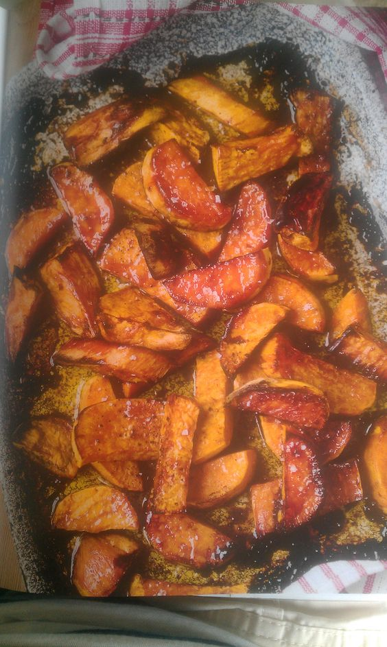 Levi Roots' Sweet Potatoes With Spicy Sausage Recipe — Dishmaps