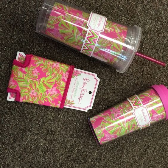 AMAZON Lilly 16oz tumbler w/straw - jungle tumble Sip in Lilly with this 20oz tumbler with straw. NWT! Price is firm unless bundled, sorry no trades. $3 is added to offset bundle discounts and posh fees, will do for $15 via phone order (shipping is still $5) Lilly Pulitzer Other