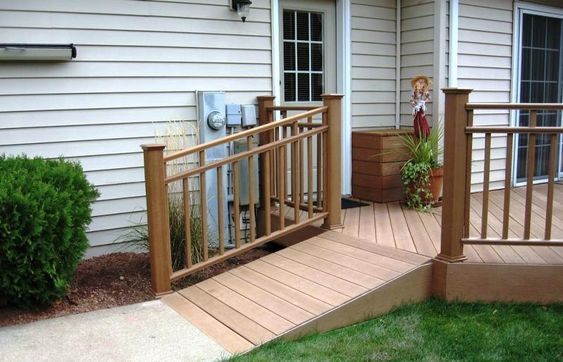 How to Build a Temporary Wooden Wheelchair Ramp