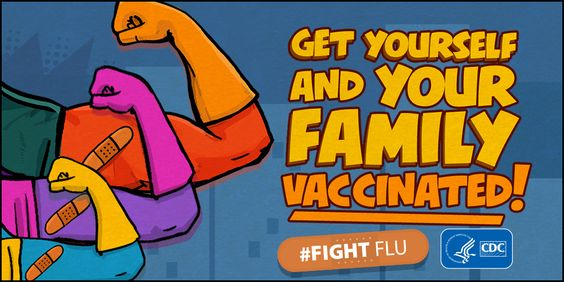 A yearly flu vaccine is the first and most important step in protecting against flu viruses. Everyone 6 months or older should get an annual flu vaccine by the end of October, if possible, or as soon as possible after October. Flu vaccines are offered in many locations, including doctor's offices, clinics, health departments, pharmacies and college health centers, as well as by many employers, and even in some schools. Protect Yourself. Protect Your Family. Get Vaccinated. #FightFlu