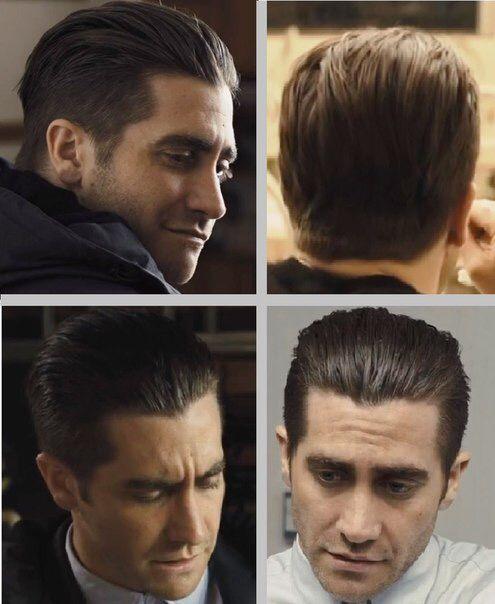 Jake Gyllenhaal Undercut Jake Gyllenhaal Haircut Mens Slicked Back Hairstyles Jake Gyllenhaal Prisoners Haircut