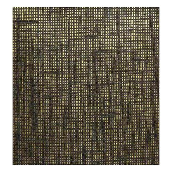 Sample Paper Weave Wallpaper in Black and Grey on Gold from the Winds... ($10) ❤ liked on Polyvore featuring home, home decor, wallpaper, weave wallpaper, woven wallpaper, grey wallpaper, gold wallpaper and burke decor wallpaper