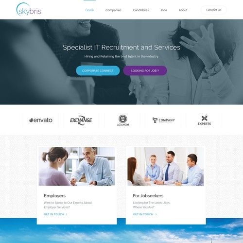 Recruitment Agency Is Looking For A Creative Website Wordpress Theme Design Contest Design Wordpress Contest Design Wordpress Theme Design Recruitment Agencies