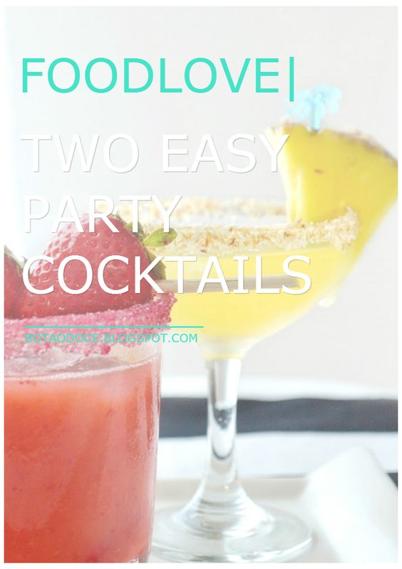 FOODLOVE | PARTY COCKTAILS  CLICK FOR RECIPES