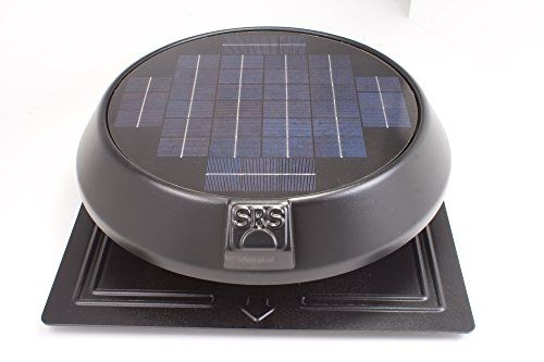 Solar Attic Fan Rfb 1250 Ft 20 Watt Round Sunrise Solar Fan With Thermostat Solarpanel Und Solar