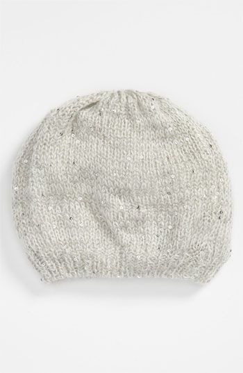 Ruby & Bloom Sequin Slouchy Beanie