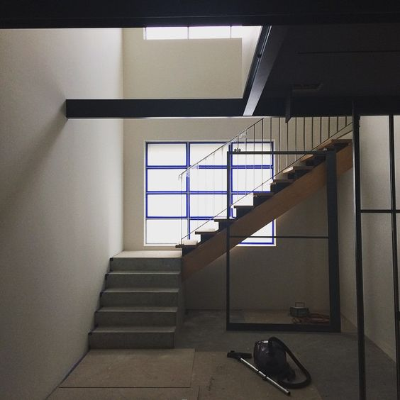 West Melbourne Stair. Simple details. Beautiful composition. #lovearchitecture