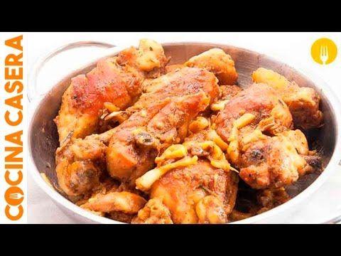 Pollo al ajillo - Recetas de Cocina Casera - Recetas fáciles y sencillas