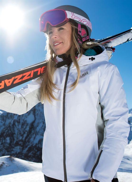 Waterproof women's ski jacket from the Colmar Alpine line