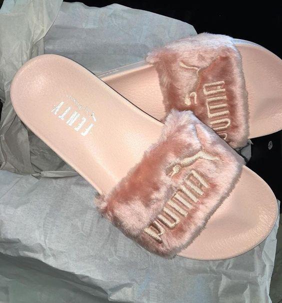 Puma slides by Rihanna