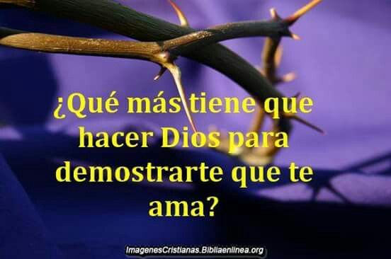 Dios nos áma......